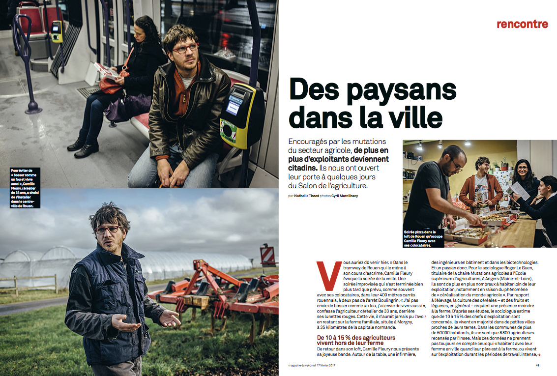 Le Parisien Magazine, Feb 2017